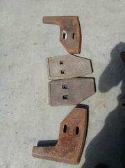 Лопатки смесителя для БСУ