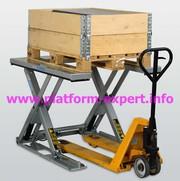 PLATFORM-EXPERT: U-образный грузовой подъемник
