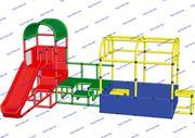 R-KIDS: Детский игровой комплекс для детей KDK-041