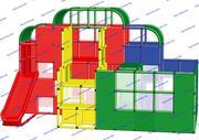 R-KIDS: Детский игровой комплекс для детей KDK-042