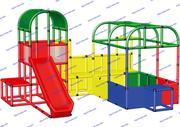 R-KIDS: Детский игровой комплекс для детей KDK-045