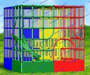 R-KIDS: Детская игровая площадка KDP-001
