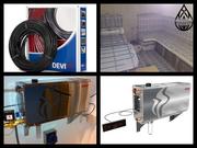 Оборудование и материалы для Паровой комнаты (Steam room)
