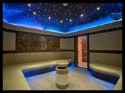 Декоративное освещение для паровой комнаты
