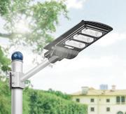 уличные фонари на солнечной батарее