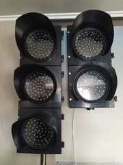 светофоры транспортные 3х секционные